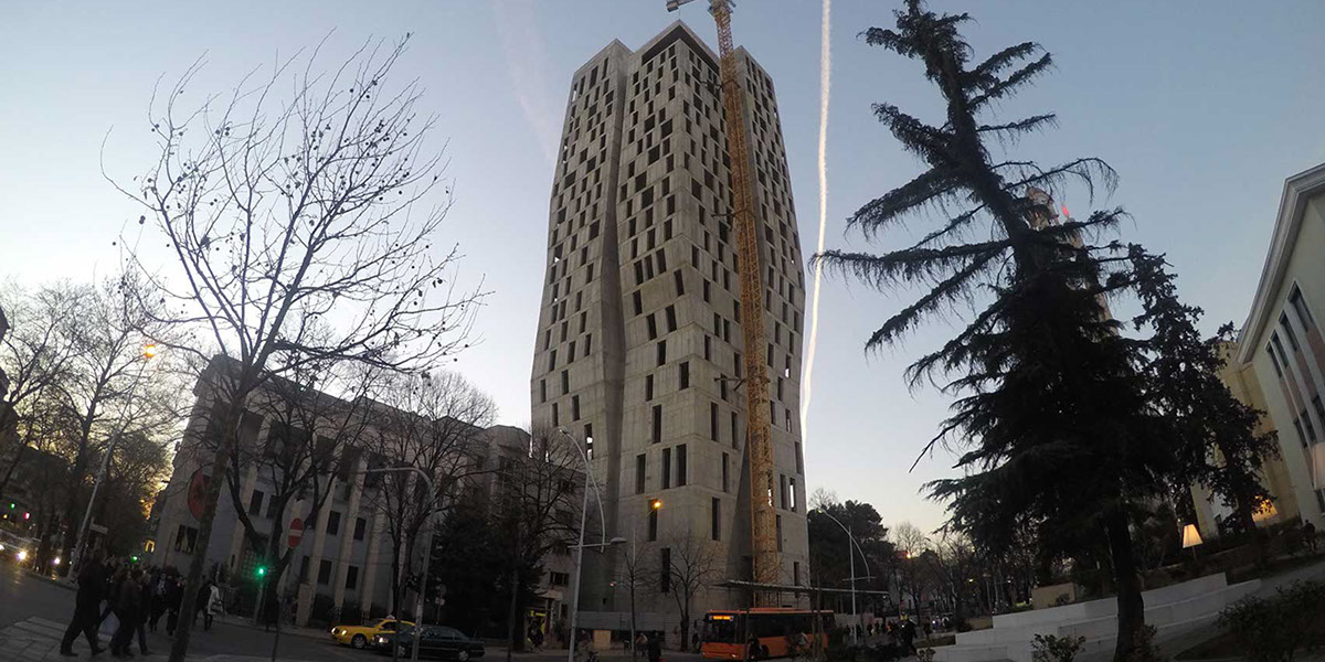 Casamonti's bankrupt 4EverGreen Tower.