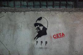 Çeta Protests against Public-Private Partnerships