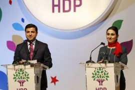Crackdown Continues, Turkish Police Detain HDP Co-Chairs