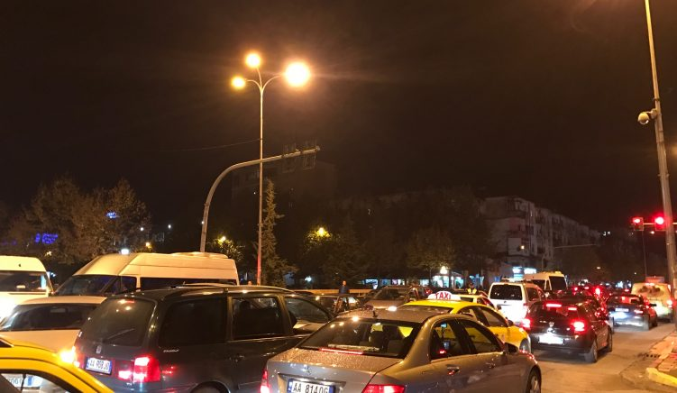 Traffic Police Crack Down on Drivers in Tirana