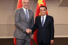 Xinhua: Chinese PM Li Keqiang Meets Rama