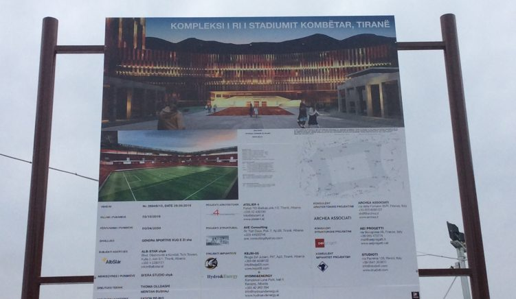 Government Favorites Line Up for Stadium Construction