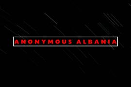 Anonymous Warns Albanian Government