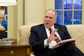 State Police in Action after Visit CIA Director