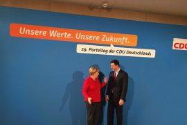 Basha Meets Chancellor Merkel