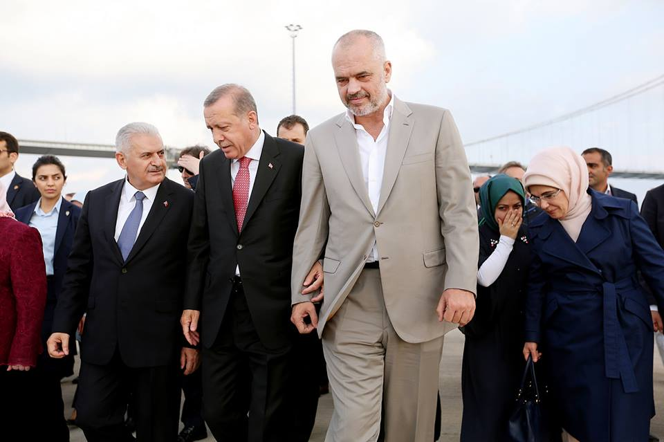 PM Rama: I Always Admired Turkish President Erdoğan