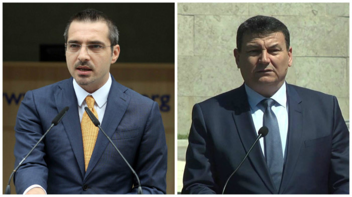 Wiretapping Scandal, Minister Tahiri and Police Director Çako Refuse to Answer Questions