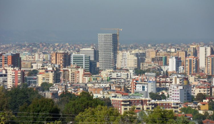 800,000 More People in Tirana