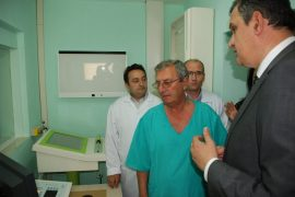 Vlora, Car of Critical Radiologist Goes Up in Flames