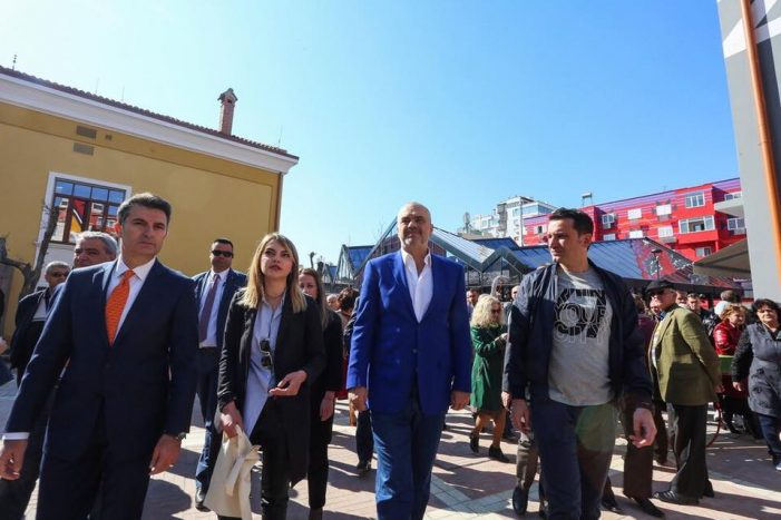 Mayor Veliaj Claims the Pazar i Ri for Himself