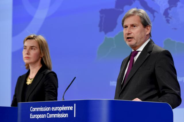 Mogherini and Hahn Respond to Elections