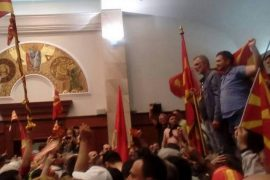 Protesters Invade Macedonian Parliament