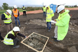 TAP Construction Halted after Archeological Finds