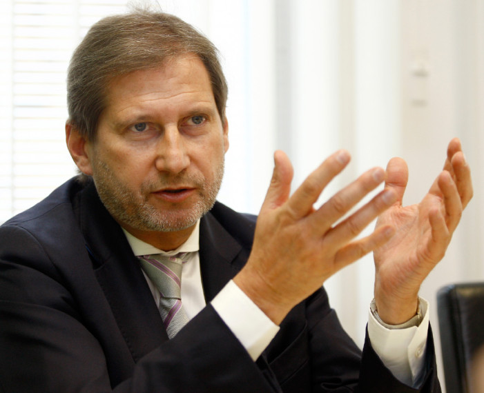"Hahn: Fight against Drug Trafficking ""Very Prominently"" on EU–Albania Agenda"