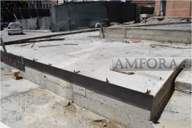 Veliera Square Archeology Disappears under Concrete