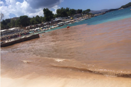 Ksamil Seaside Covered in Excrement