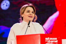 Monika Kryemadhi Calls On Citizens To React Against Political and Economic Crisis
