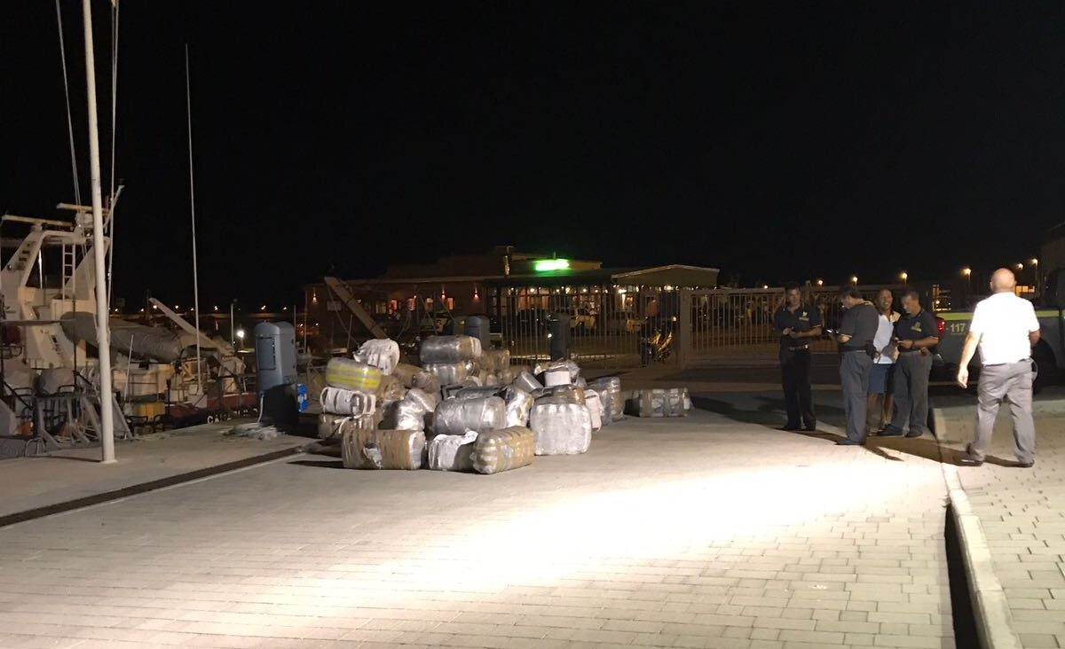 2.5 Tons of Albanian Weed Captured in Manfredonia