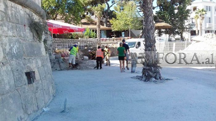 Last Visible Archeological Remains Hacked Away in Durrës