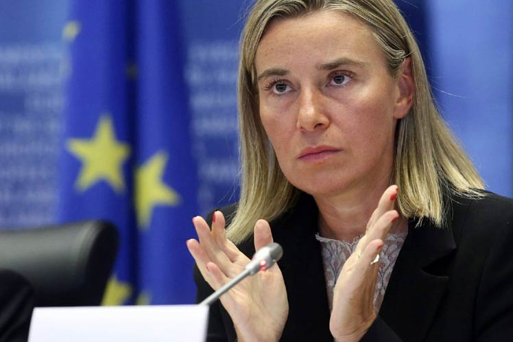 "EU High Representative Mogherini Warns Rama Against Using ""Provocative Rhetoric"""