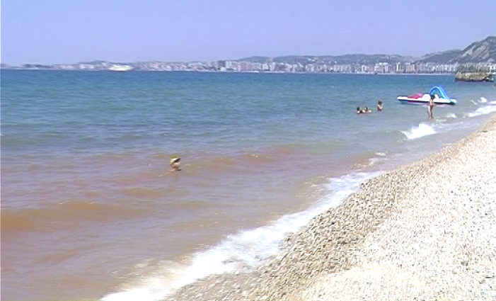 More Sewerage in the South, Saranda Beach Covered