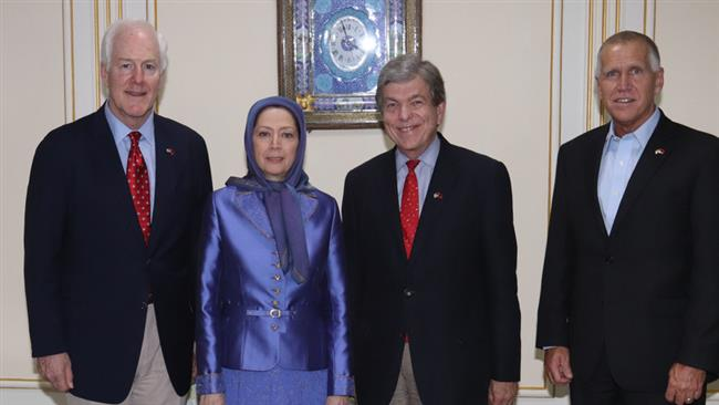 US Senators Meet MEK Leader in Tirana