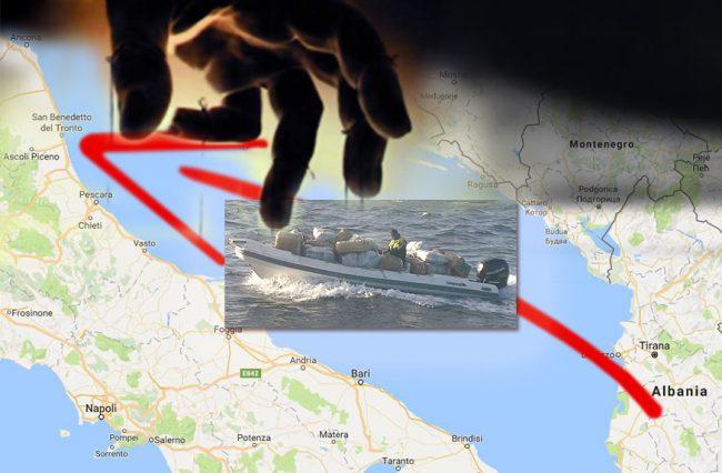 Guardia di Finanzia Seizes 2,3 Tonnes of Cannabis Originating from Albania