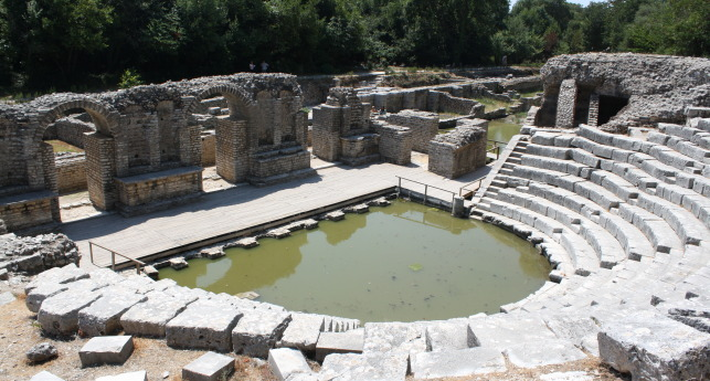 More Archeological Heritage At Risk, Construction Work Starts in Butrint