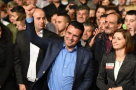 Macedonian PM Zaev Declares Victory in Local Elections
