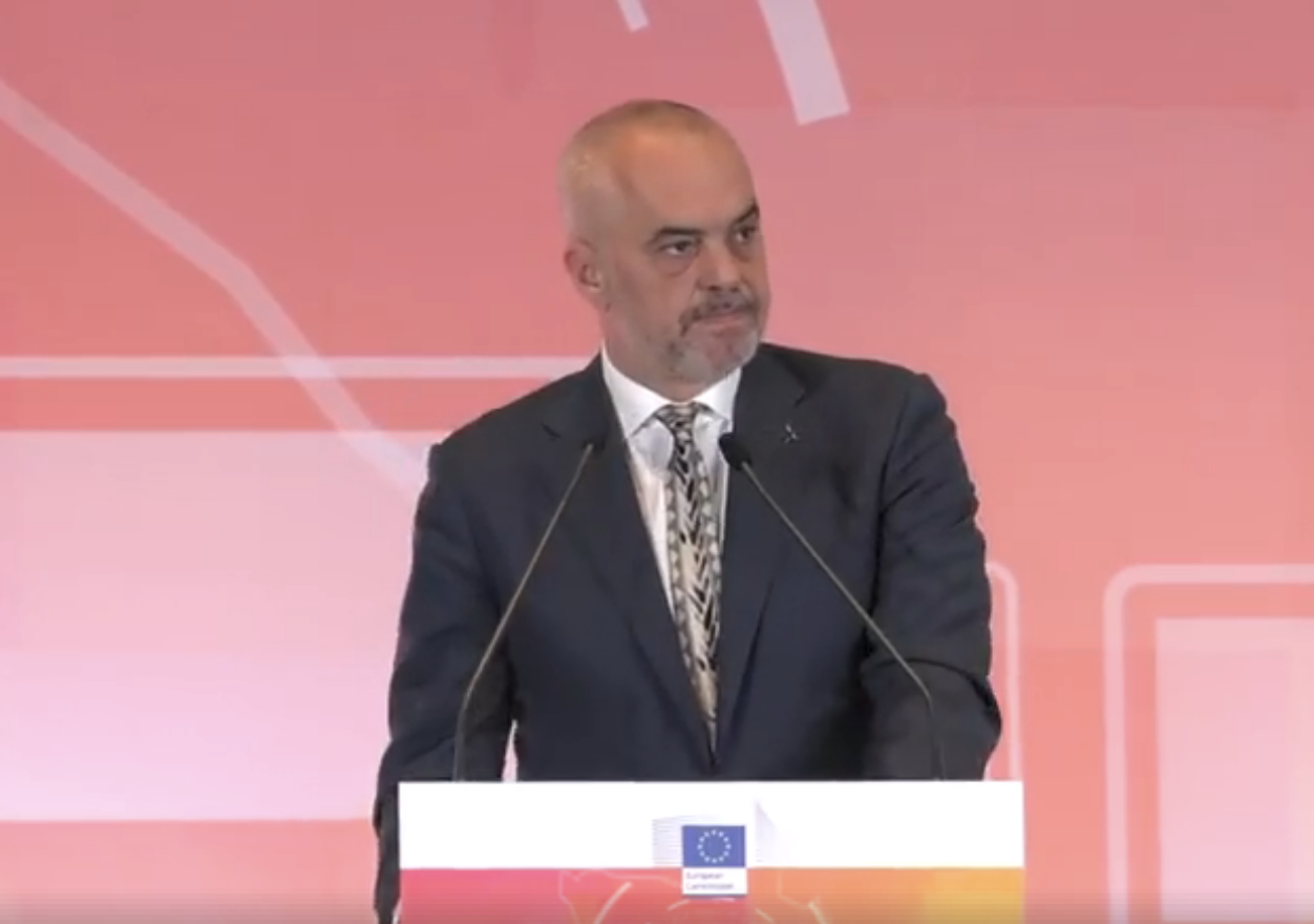 Rama Opens EU Media Days with Complaints about Fake News