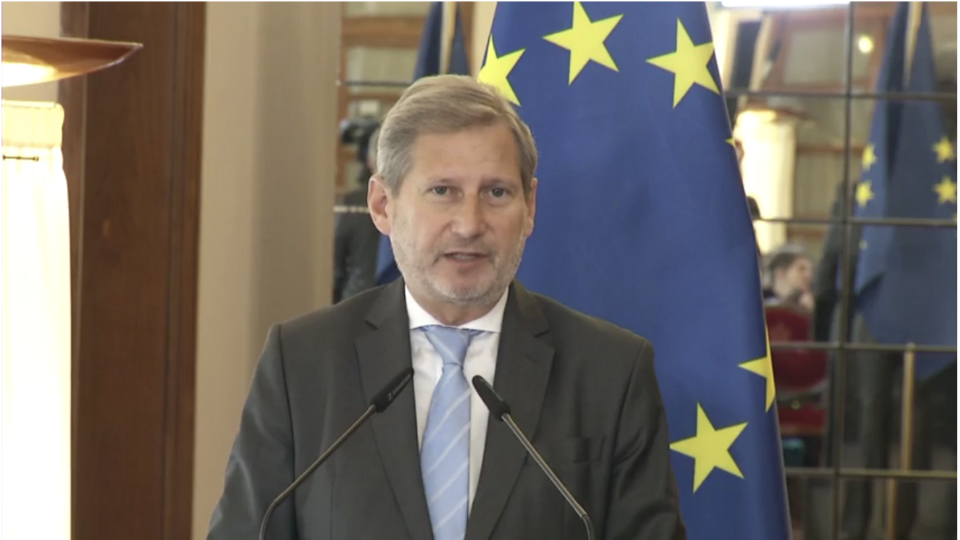 EU Commissioner Hahn, Divorced from Reality