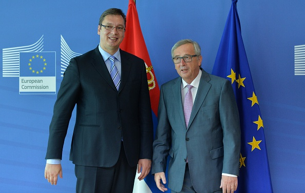 Juncker Is Keeping Albania and Macedonia on the Line