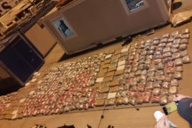 Police Suspected in 2.5 Ton Drug Transport