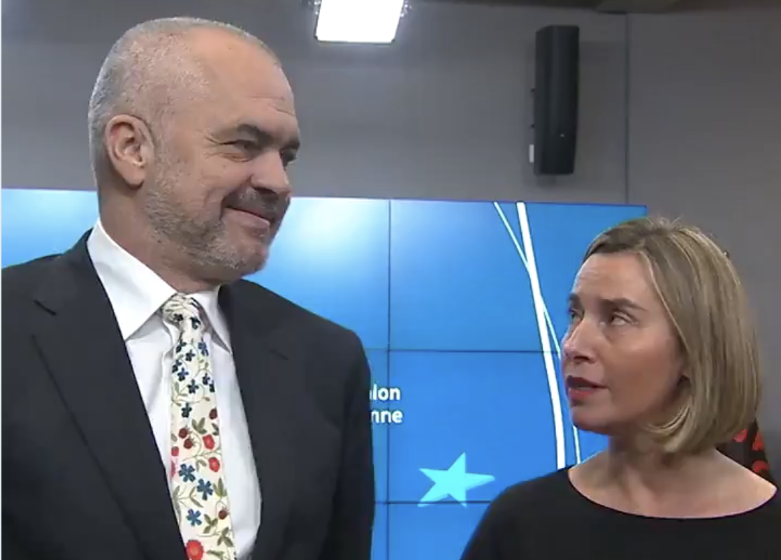 """Mogherini Speaks of """"Enormous Work"""" by Government, What Could She Possibly Mean?"""