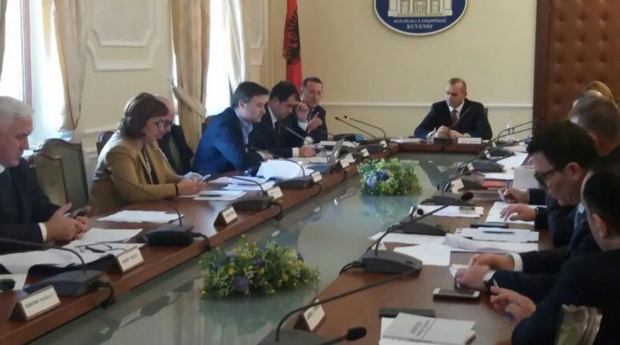 Legal Affairs Commission Starts Hearing Session for Temporary General Prosecutor