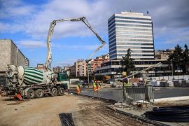 Tirana Municipality Continues Reconstruction of Skënderbeg Square