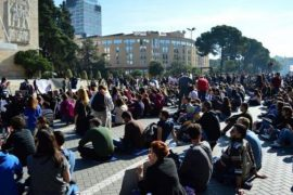 Students Protests against High Tuition Fees