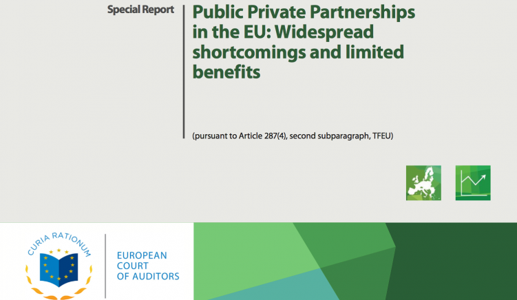 EU Court of Auditors: PPPs Suffer from Widespread Shortcomings, Limited Benefits
