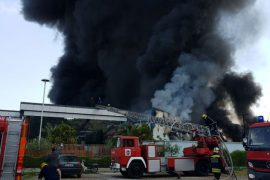 """Model"" Recycling Plant Burns Down"