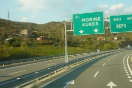 Rruga E Kombit Highway Toll To Be Lowered To 100 Lekë For Locals