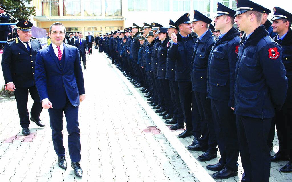 Saimir Tahiri's Private State Police