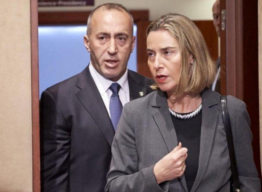 Kosovo's PM Haradinaj: Mogherini Turned Kosovo-Serbia Dialogue into Dialogue on Territories