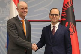 "Dutch Minister Blok: Albania Needs to Show ""Clear and Concrete Progress"""