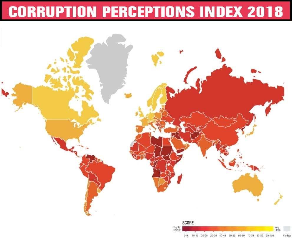 Albania Drops Eight Places in Corruption Perception Index