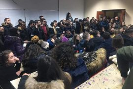 Students Continue University Occupation