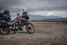 Morgan Bernoux Biked From France To India, Via Albania