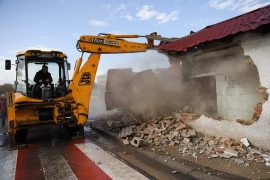 Municipality of Tirana Starts to Demolish More Houses
