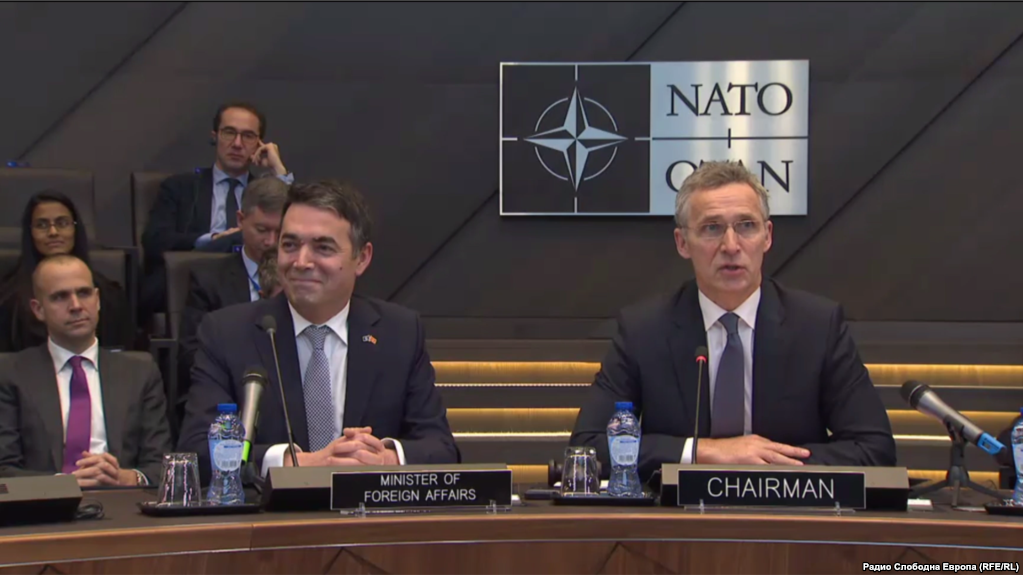 Macedonia Signs Key Agreement with NATO Before Accession