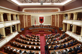 Albanian Opposition Decides to Vacate All Its Seats in Parliament