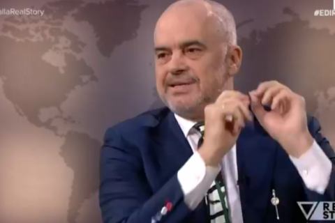 PM Edi Rama: Kosovo is part of Albania, Kosovo-Serbia Border Will Be Discussed